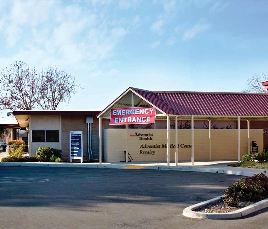 Adventist Health Emergency Room Hanford